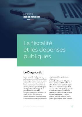Illustration de la fiche La fiscalité et les dépenses publiques
