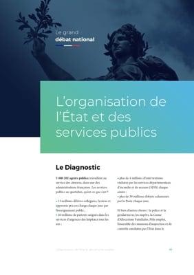 Illustration de la fiche L'organisation de l'État et des services publics