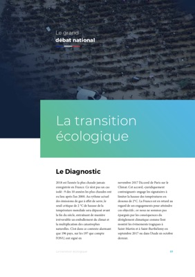 Illustration de la fiche La Transition écologique