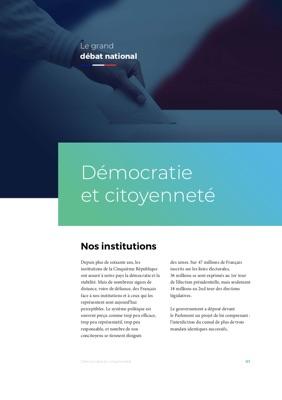 Illustration de la fiche La Démocratie et la citoyenneté